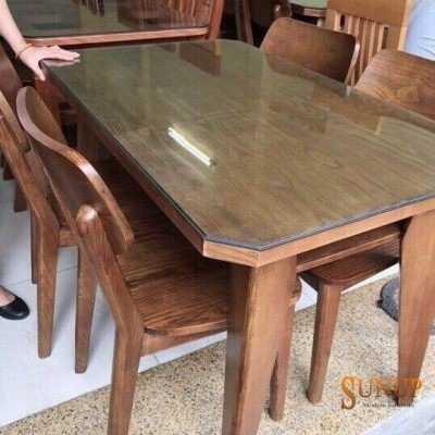 bàn ghế ăn nhỏ 4 ghế